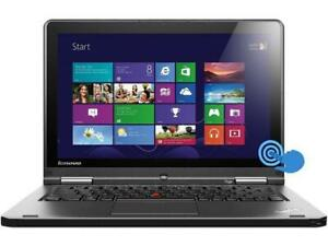 "Lenovo ThinkPad Yoga 12.5"" Intel i3 4GB 120GB SSD Windows 10 2-in1 Laptop/Tablet"