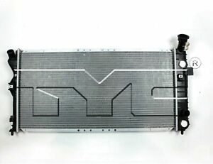 TYC 1889 Compatible with Buick Century 1-Row Plastic Aluminum Replacement
