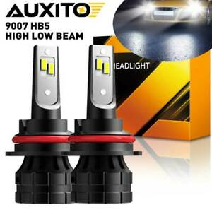AUXITO LED Headlight 9007 HB5 Hi/Low Beam 20000LM Bulbs Super Bright White Lamps
