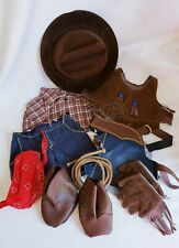 """New listing Cowboy Outfit Costume for 12"""" Bear or Doll Vintage Tender Heart Treasures"""