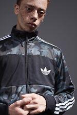 Adidas x Bathing Ape Firebird Track Top Bape Jacket Grey Camouflage Camo Zip