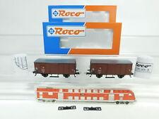bj43-0,5 #2x ROCO H0 / DC 844 Vagón de mercancía 17 354 DR NEM ,NUEVO + emb.orig