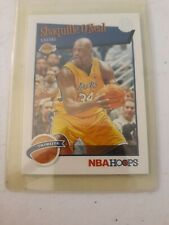 New listing 2019-20 Panini NBA Hoops RED BACK Shaquille O'neal Tribute #283