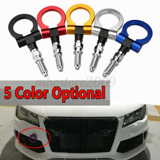 Universal Racing Tow Towing Hook Car Auto Trailer Ring fits for BMW  //*