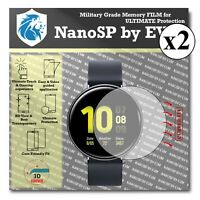 Screen Protector For Samsung Galaxy Watch Active2 Aluminum TPU FILM x2 40mm