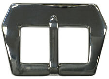 24mm Panatime Polished Pre-v Style Sew-in Watch Buckle For Panerai