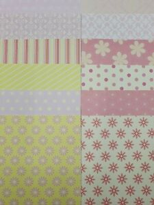 """12 x Dovecraft Back To Basics 3 Papers 6""""x 6"""" For Cardmaking"""