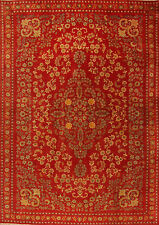 Tappeto Orientale Annodato A Mano Sottile Tappeto persiano Nr 4076 (377 x 265)cm