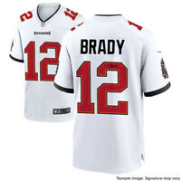 Tom Brady Signed Autographed Tampa Bay Buccaneers White Nike Game Jersey TRISTAR