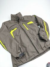 Salomon Advantex Move RECCO Ski Snow Jacket Brown Sz L