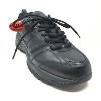 Men's NEW New Balance 409 Training Shoes Sneakers Size 11.5 4E Black Leather U12
