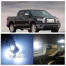 14Pcs White Interior LED Lights Package Kit for 2007-2014 Toyota Tundra