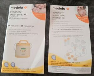 "Medela Symphony Breast Pump Kit ""INSTRUCTION MANUAL ONLY"" - English & Spanish"