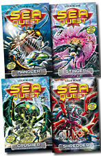 Sea Quest Series 2 Collection Adam Blade 4 Books Set (5 to 8)