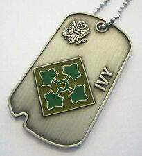 4th INF. DIVISION (Commemorative Dog Tag)