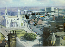 Fairey Swordfish torpedo bomber  Avatiation art  Stringbag Fleet Air Arm Leeds