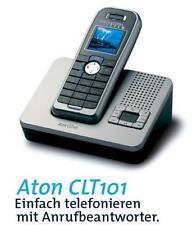 Swisscom Aton CLT 101 Schnurlos Analog Telefon mit Anrufbeantworter