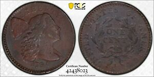 """1794 Head of 1794 Large Cent 1C PCGS """"Devices Engraved"""" VF Detail FREE SHIPPING"""