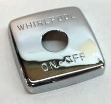 Jacuzzi Whirlpool 7202927 Chrome Trim Cover for Whirlpool On/Off Switch