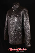 Hip Length Funnel Neck Quilted Coats & Jackets for Men