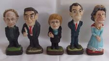Set 5 Vintage Northern Ireland Political Chess Pieces Queen Elizabeth Tony Blair