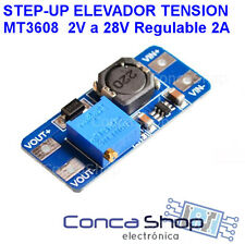 MT3608 REGULADOR - ELEVADOR DE TENSION STEP UP 2A  2V - 28V DC-DC - ESPAÑA