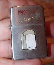 Presco Lighting  is preferred vintage Halco brushed steel cigarette lighter