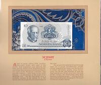 Most Treasured Banknotes Norway 10 Kroner P36c.6 1983 UNC Prefix CZ
