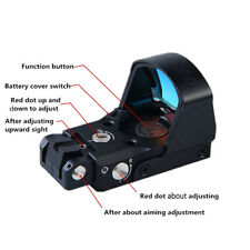 DP-Pro Red Dot Sight High Quality Wide field-of-view with 3 Mounts Pistol Scope