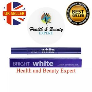 TEETH WHITENING GEL PEN CLEANING BLEACHING DENTAL PROFESSIONAL WHITE KIT U.K.