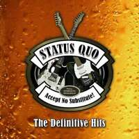 STATUS QUO - Accept No Substitute! - The Definitive Hits - 3 CD Set !! - NEU/OVP