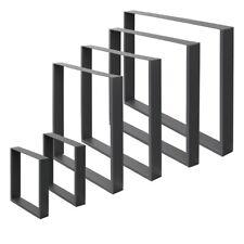 Piedi gambe per tavolo scorrevoli sruttura tavolino base acciaio varie misure