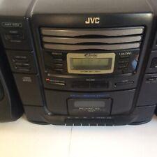 Vtg. Massive JVC PC-XC10BK Stereo Boombox - CD Changer & Cassette Player