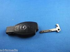 ORIGINAL Mercedes Schlüssel 2 Tasten Funkschlüssel Fernbedienung Zündschlüssel