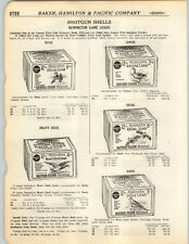 1923 PAPER AD 2 PG Remington Amunition Ammo Box Boxes 12 Gauge Buck Duck Goose