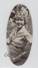 1934 Carreras Film Stars Oval #5 Genevieve Tobin Non-Sports Card 0f3