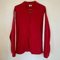 TARGET Store Men Red Employee Long Sleeve Pullover Zip Jacket 2XL