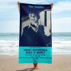 The Smiths - WHAT DIFFERENCE DOES IT MAKE? - 1984 - Beach Towel - Morrissey