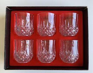 Vintage Cristal D\u2019Arquis-Durand bubble ball stem glass