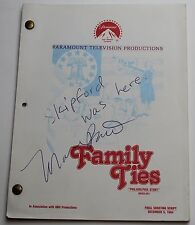 FAMILY TIES * 1984 TV Show Script * Season 3, Episode 16 * Philadelphia Story