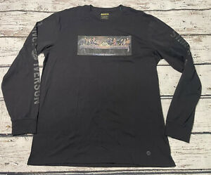 New with Tags Stance X Iverson Last Supper Long Sleeve Shirt Size XL