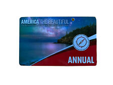 AMERICA THE BEAUTIFUL US National Parks Annual Pass (Exp 09/30/2020)