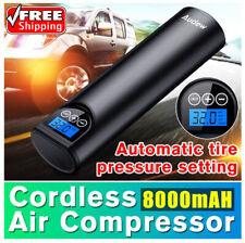 12V 150PSI Cordless Handheld Inflatable Air Pump Car Tyre Inflator LCD Digital
