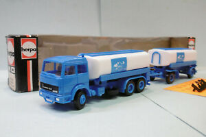 Herpa - Camion + Remorque citerne MAGIRUS IVECO Aral réf. 813371 BO HO 1/87