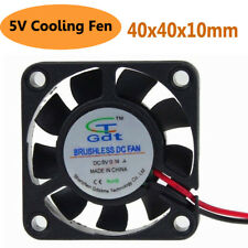 DC 5V USB Cooling Cooler Fan Computer Brushless Sleeve Bearing Fan 40X40X10mm