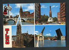 C1980s Multiviews of Bilbao: Bridge: Cathedral: Monument