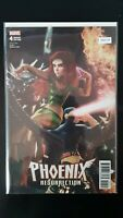 Phoenix Resurrection 4 Variant Edition Marvel High Grade Comic Book RM8-109
