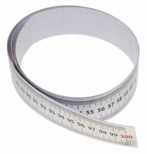 Selbstklebendes metrisches Maßband 90cm Vinyllineal für Nähmaschinenaufkleb R5P7