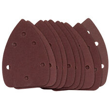 10 x Draper 31977 Mixed Sanding Sheets for Tri-Palm Detail Sander 76219
