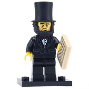 Lego Abraham Lincoln 71004 The LEGO Movie Collectible Minifigure